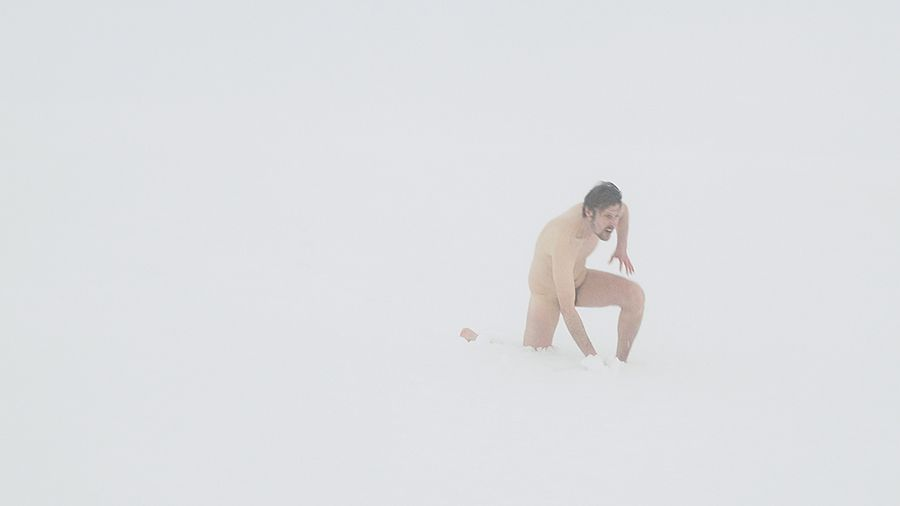 Nils Agdler, Den nya mannen:Rebirth, (3 min loop, 2018)
