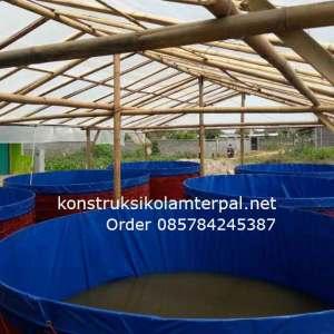 Testimoni konstruksi Jual kolam terpal 12