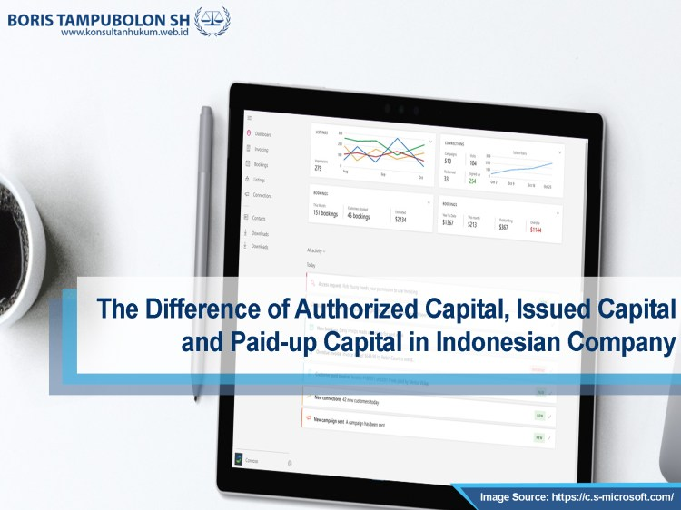 the difference of authorized capital fix