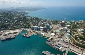Port Moresby city