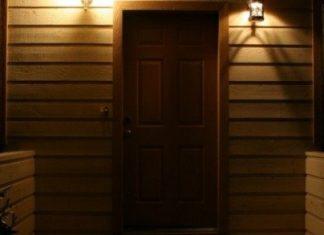tutup pintu petang malam