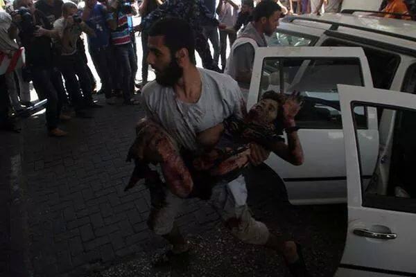 anak-anak palestina korban zionis yahudi