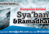 artikel puasa bulan ramadhan sya'ban