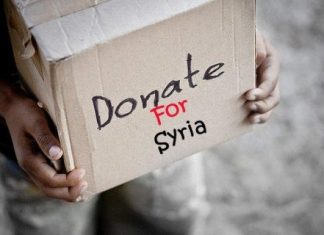 donasi untuk suriah