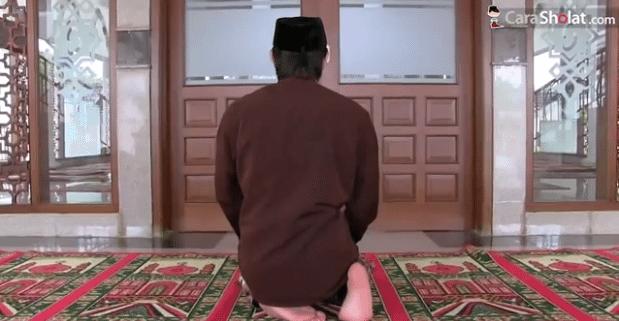 cara salam dalam sholat