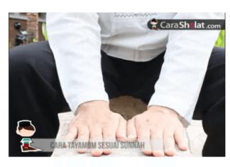 cara tayamum dan mandi wajib
