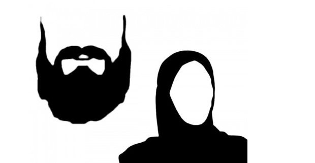 jenggot dan jilbab