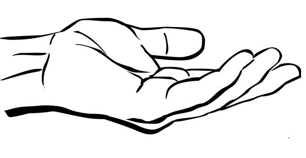 tangan memegang