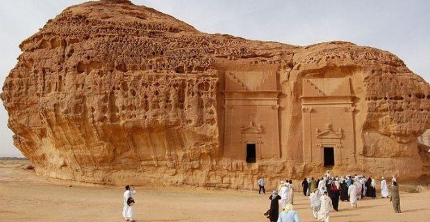 Mada'in Saleh di Arab Saudi