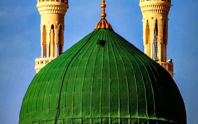 sejarah kubah hijau makam nabi