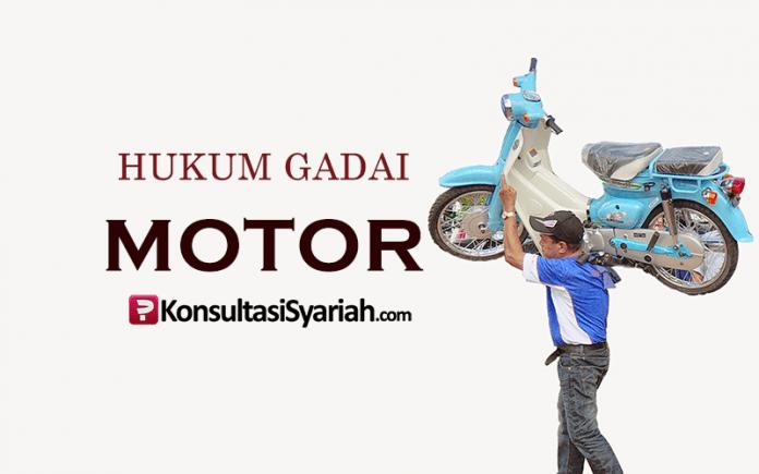 hukum gadai motor