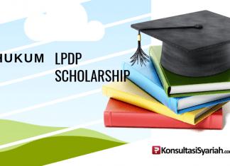 Hukum beasiswa LPDP scholarship