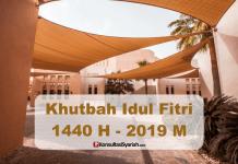 khotbah idul fitri 2019 - 1440