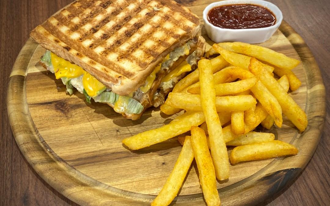 Big Mac Sandwich im Tefal OptiGrill