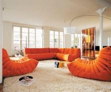 Togo Enviromental 1 in orange-Sofas-furniture-kontaktmag-07
