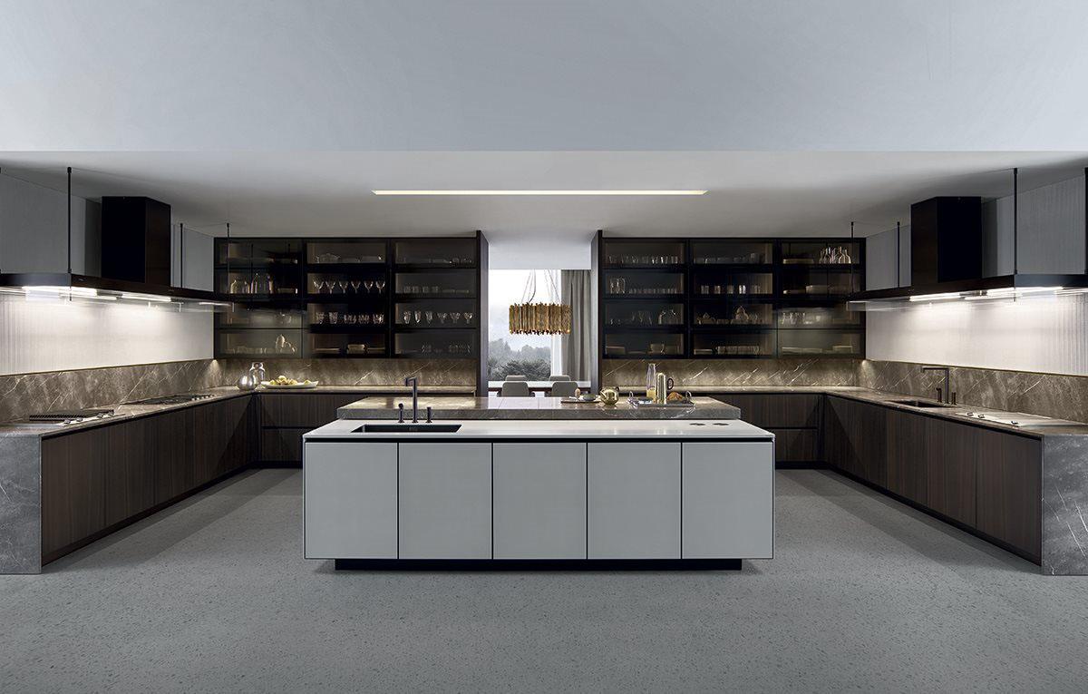 Varenna Arthena Kitchen by Poliform  kontaktmag