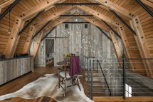Modern Rustic Interior Barns Design