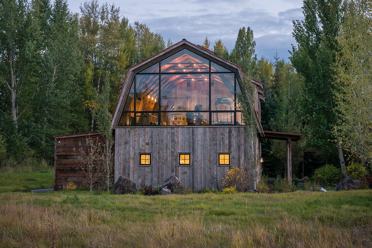 The Barn Is The Perfect Example Of Modernrustic Design