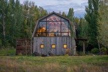 Rustic Modern Barn Design