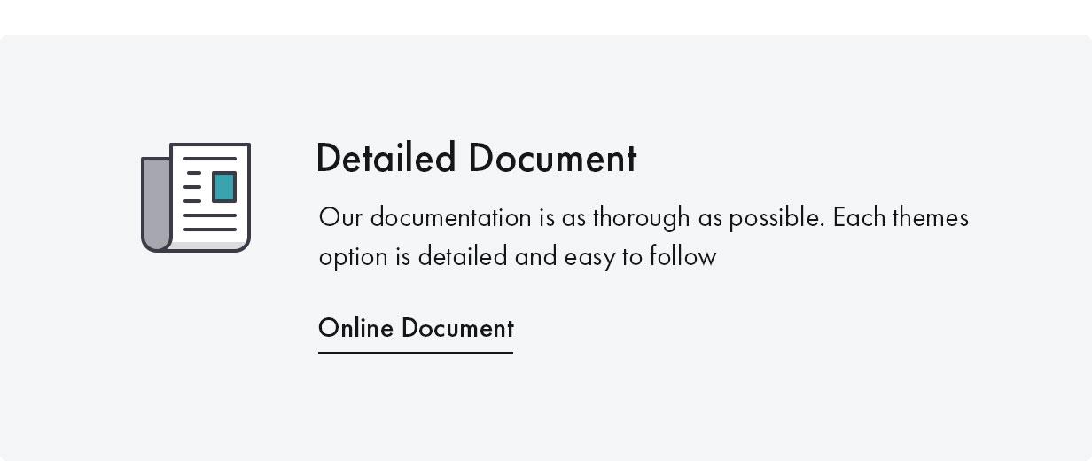 Konte WordPress theme Documentation