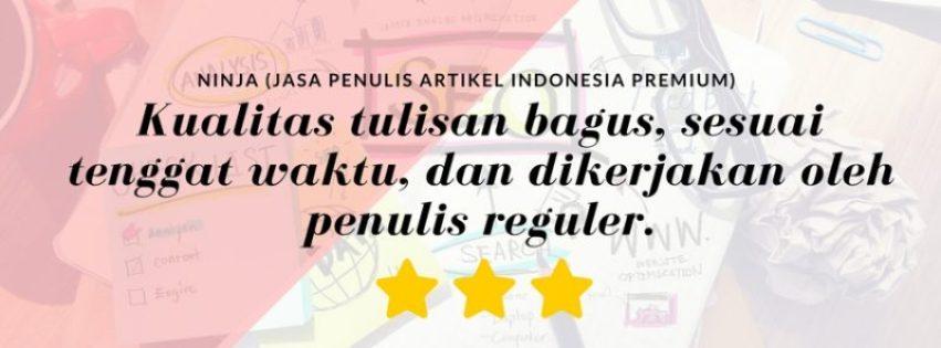 kontenesia jasa penulis artikel indonesia - ninja