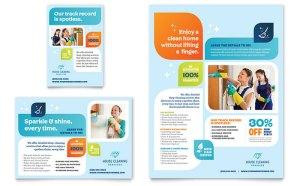 Leaflet perusahaan cleaning servis jasa desain grafis kontenesia