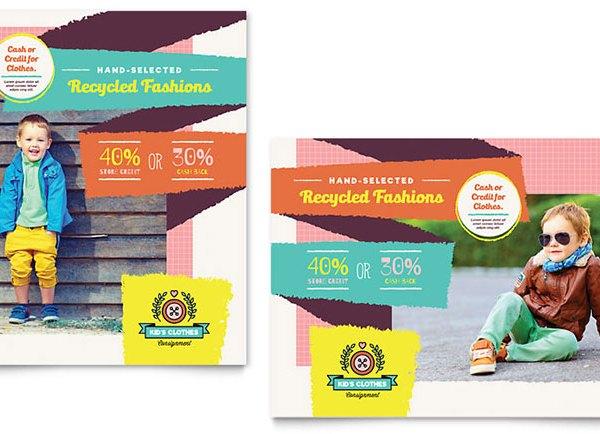 poster toko baju anak bidang fasion jasa desain grafis kontenesia