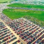 Millones de vehículos nuevos son abandonados