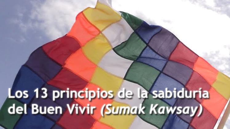 SumakKawsayBuenVivirPrincipios