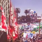 Multitudinarias protestas en todo el país contra Mauricio Macri