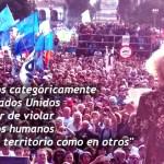 Estela de Carlotto criticó duramente a los EEUU y a «Cambiemos»
