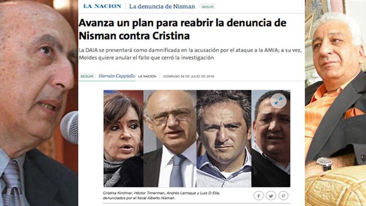 Resultado de imagen de Se cae otra gran mentira de Nisman Estudios de ADN niegan su hipótesis del conductor suicida en el caso AMIA ¿En qué más mintió?