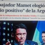 La fiesta del Poder Real por el Día de la Independencia de EEUU en Argentina