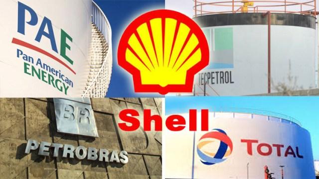 Petroleras-Tarifazo-Logos-Shell-Aranguren