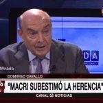 Cavallo recomendó a Macri ganar en 2017 y «privatizar todas las empresas estatizadas»