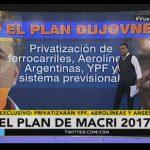 Navarro: «Hay que parar a Macri. Se viene la Privatización de YPF, Aerolíneas y el Sistema Previsional»