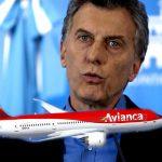 Macri ya comenzó a otorgarse rutas aéreas a través de la venta simulada de Mac Air a Avianca