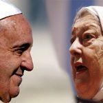 Emotivo intercambio de cartas entre Hebe de Bonafini y el Papa Francisco