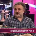 Alejandro Rozitchner se burló de la canción del hermano de Santiago Maldonado: «tiene un componente humorístico espantoso»