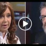 CFK: «Acá desapareció una persona y el gobierno no dice nada. La democracia está en emergencia en toda América Latina»
