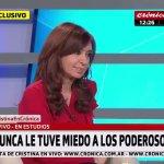Cristina con Chiche Gelblung: «Esos que no se ven son los que tienen más poder. Nunca les tuve miedo»