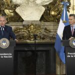 Macri firmó con el genocida Netanyahu convenios para «seguridad interior»: represión