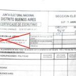 ¿Intento de fraude? fiscales de Cambiemos con acta de escrutinio de presidente de mesa en toda la Provincia