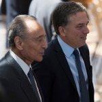 Un sonriente Magnetto en el CCK presenció el Ajustazo anunciado por Macri