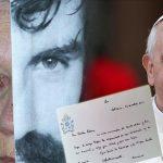 Conmovedora carta del Papa Francisco a la mamá de Santiago Maldonado. Se confirma el viaje de la familia al Vaticano en diciembre