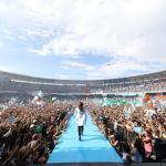 """CFK ante 100.000 personas: """"Vamos a volver a poner en órbita al Pueblo, a la Patria. Argentina no es una sociedad anónima, es la Patria y es de todos y todas"""""""