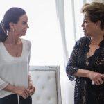 Cristina se reunió con Dilma Rousseff luego de recibir el apoyo de Lula quien habló de «cacería judicial»