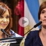 (VIDEO) Cristina dejó expuesta a Michetti por sus mentiras sobre el Memorándum con Qatar