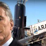 Macri cajoneó el plan para modernizar la Armada con Invap