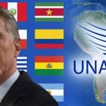 Grave: Macri planea retirar a Argentina de UNASUR, desarmando el proyecto de una Patria Grande en América Latina